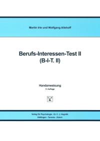 Berufs-Interessen-Test II