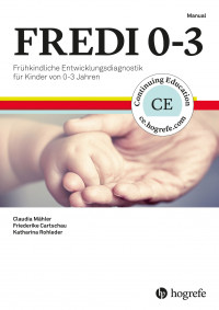 FREDI 0-3 Test komplett bestehend aus: Manual FREDI 0-3, Durchführungsanleitung FREDI 0-1, Durchführungsanleitung FREDI 2-3, 10 Elternfragebogen 0-1, 10 Elternfragebogen 2-3, 10 Elternfragebogen 4-5, 10 Elternfragebogen 6-7, 10 Elternfragebogen 8-9, 10 El
