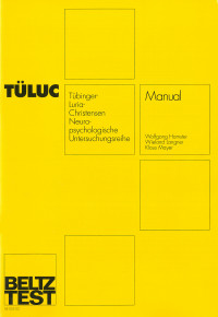 Tübinger Luria-Christensen -- Neuropsychologische Untersuchungsreihe