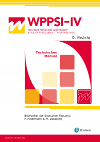 WPPSI-IV - W. Preschool and Primary Scale