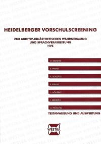 Heidelberger Vorschulscreening zur auditiv-kinästhetischen Wahrnehmung und Sprachverarbeitung