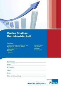 Test für das duale Studium Betriebswirtschaft