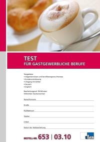 Test für gastgewerbliche Berufe