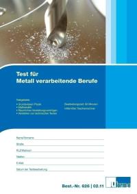 Test für metallverarbeitende Berufe