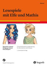 Lesespiele mit Elfe und Mathis, 2. Auflage - Klassenlizenz,  bestehend aus: Manual und 15 USB-Sticks
