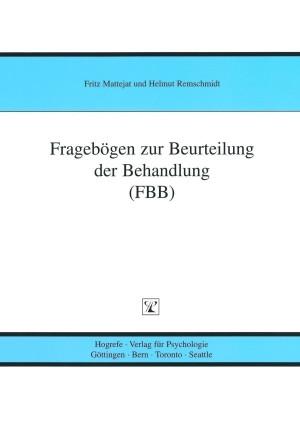 Test komplett bestehend aus: Manual, 5 Fragebogen FBB-T, 5 Fragebogen FBB-P, 5 Fragebogen FBB-E, 5 Auswertungsbogen FBB-T, 5 Auswertungsbogen FBB-P, 5 Auswertungsbogen FBB-E und Mappe