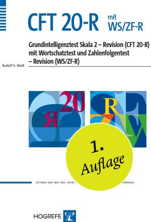 CFT 20-R komplett ohne WS/ZF bestehend aus: Manual CFT 20-R, Testheft CFT 20-R, 10 Antwortbogen CFT 20-R, 10 Auswertungsbogen CFT 20-R und Mappe CFT 20-R