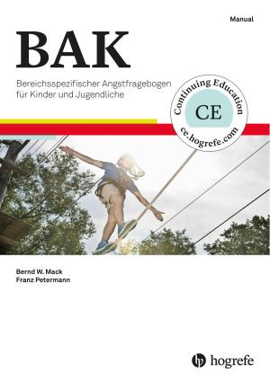 Test komplett bestehend aus Manual, 10 Fragebogen Kinder und Jugendliche (BAK-K), 10 Fragebogen Eltern (BAK-E), 20 Auswertebogen, Auswerteschablone (BAK-K und BAK-E) und Box