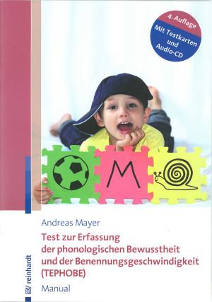 Manual, 70 Seiten, 18 Abb., 48 Tab., 4 Testkarten und Audio-CD mit Testinstruktion