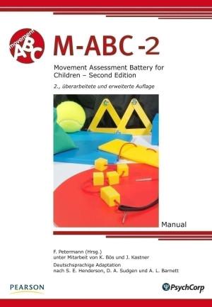 Test komplett bestehend aus: Manual, Testmaterial und je 25 Protokollbogen für die Altersgruppe 1, 2 und 3