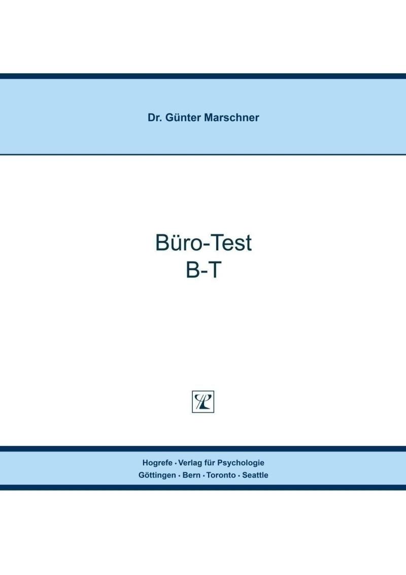 Test komplett bestehend aus: Handanweisung, je 1 Testheft A + B, 25 Lösungsblättern, Lösungsschlüssel und Mappe