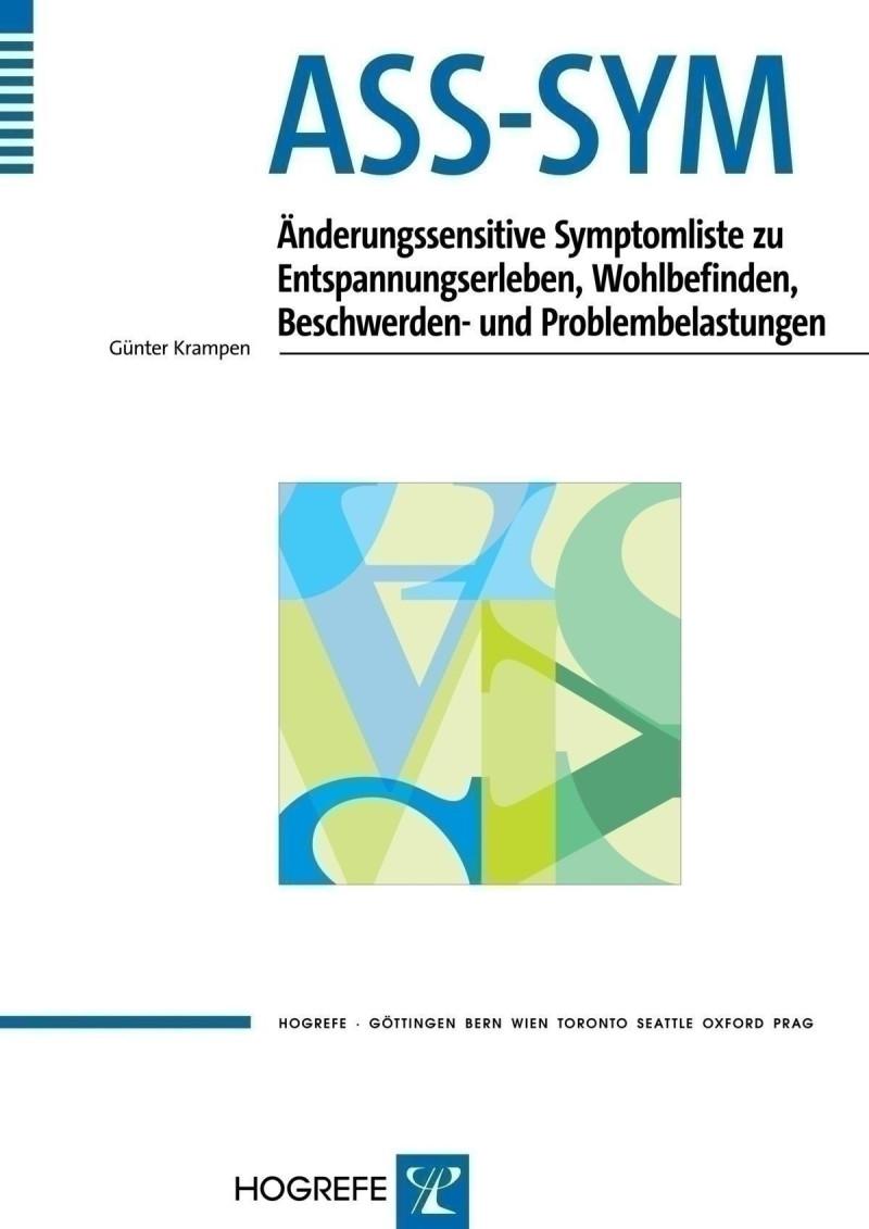 Test komplett bestehend aus: Manual, 10 Symptomfragebogen, 10 Auswertungsbogen und Mappe