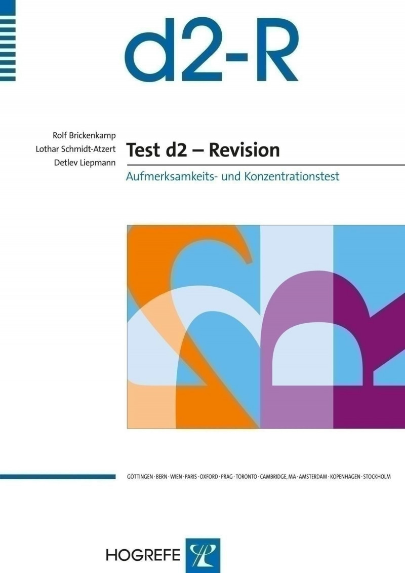 Test komplett bestehend aus: Manual, 20 Kurzanleitungen, 5 Kurzanleitungen türkisch, 20 Testbogen, 20 Auswertungsbogen und Mappe