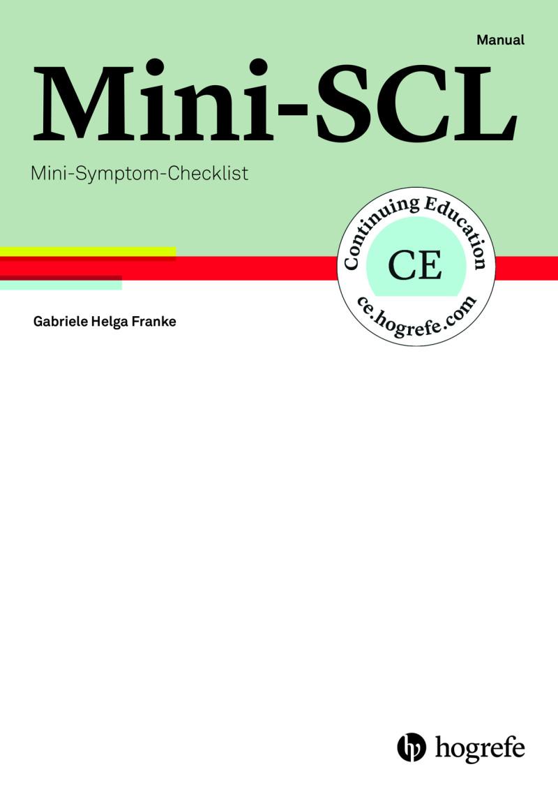 Mini-SCL komplett bestehend aus: Manual, 5 Fragebogen, 5 Auswertungsbogen, 5 Profilbogen und Mappe