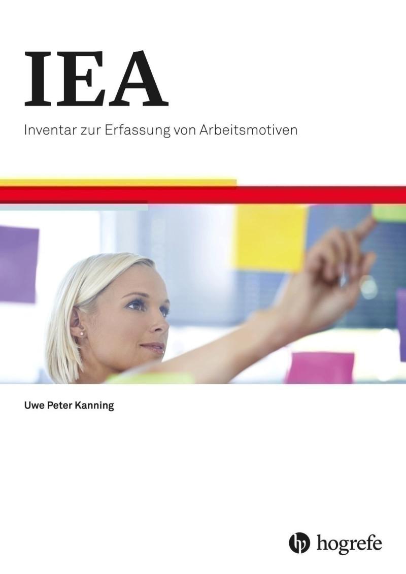 Test komplett bestehend aus: Manual, 20 Fragebogen IEA, 20 Fragebogen IEA-K, 20 Fragebogen IEA-A, 20 Fragebogen IEA-A-K, 20 Auswertungsbogen IEA (Primärmotive), 20 Auswertungsbogen IEA (Sekundärmotive), 20 Auswertungsbogen IEA-A (Primärmotive), 20 Auswert