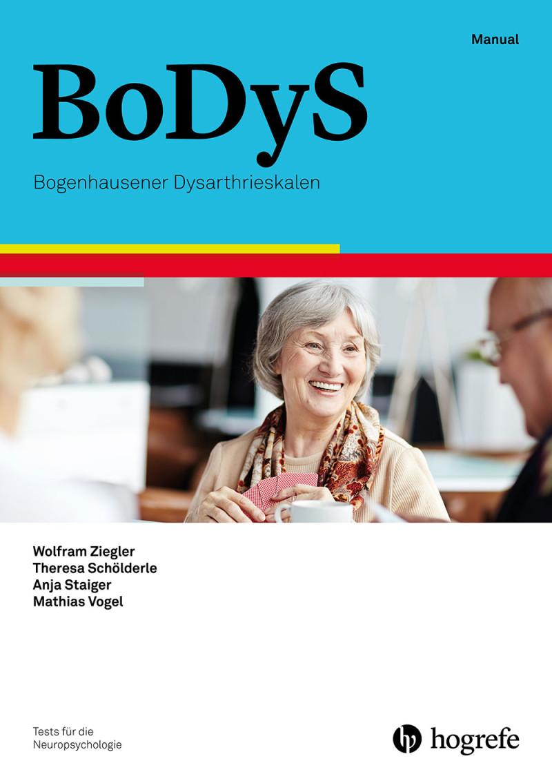 Test komplett bestehend aus: Manual, 15 Auswertungsbogen BoDyS voll, 15 Auswertungsbogen BoDyS oL, 15 Auswertungsbogen BoDyS kurz, Vorlagenmappe, Begleitheft und Mappe