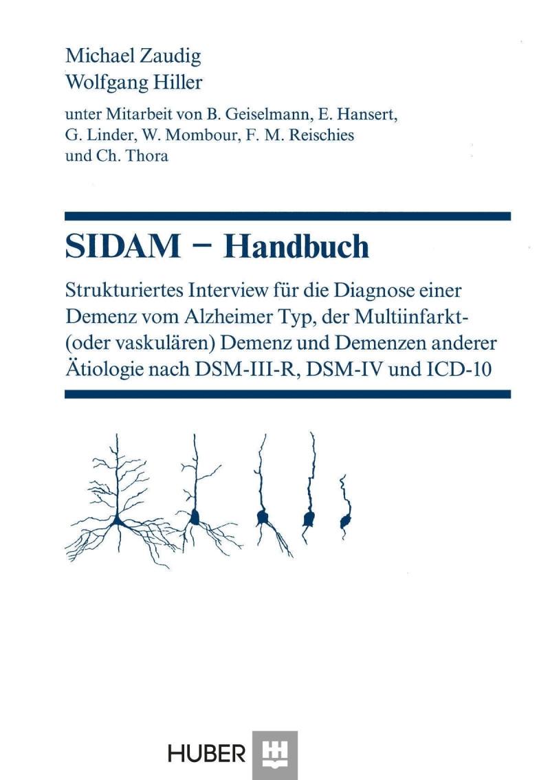 Test komplett nach ICD-10 bestehend aus: Handbuch und 10 Fragebogen