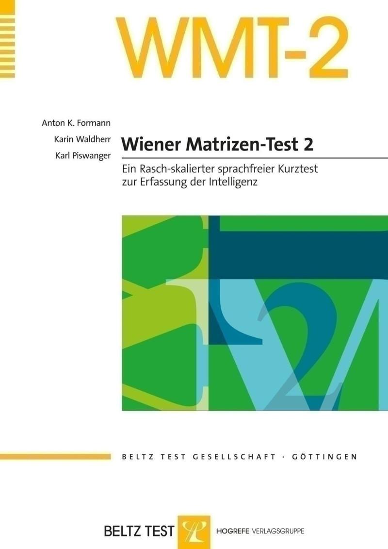 Test komplett bestehend aus: Manual, 2 Testhefte, 10 Antwortbogen und Box