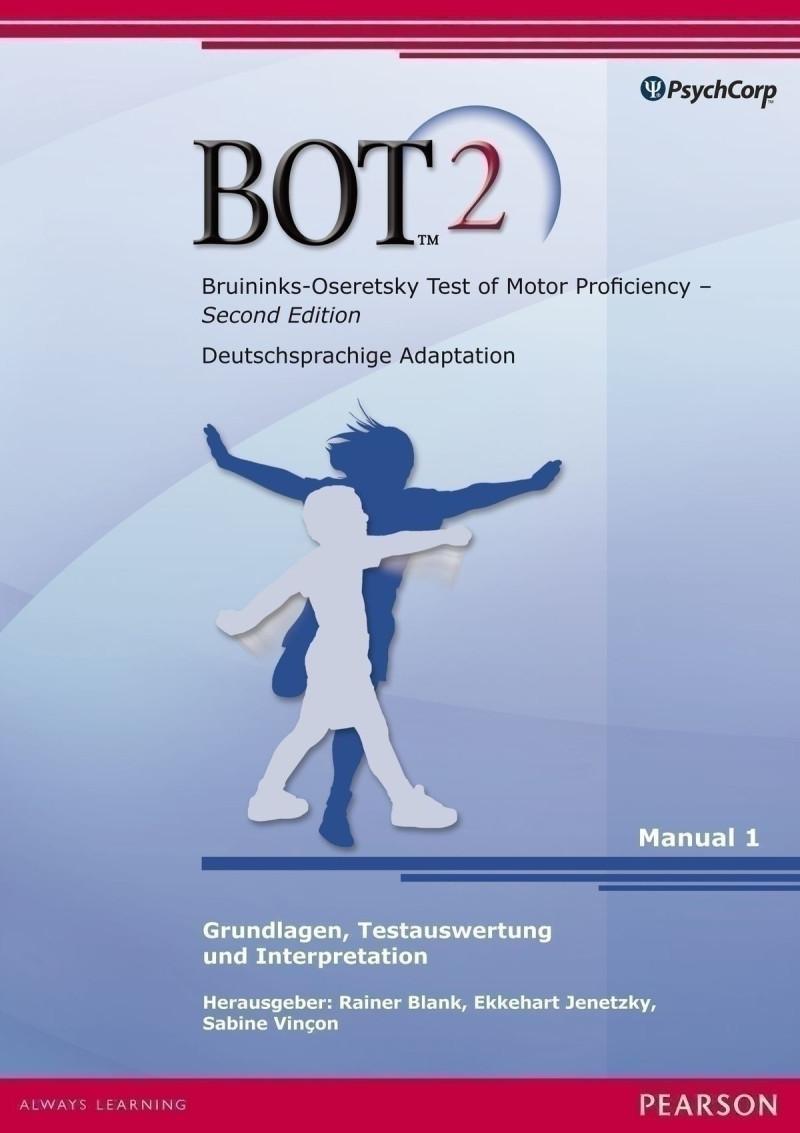 Test komplett bestehend aus: Manual (Testauswertung, Interpretation), Testbuch (Testdurchführung), 25 Protokollbögen, 25 Aufgabenhefte, Schablone, Testmaterial und Tasche