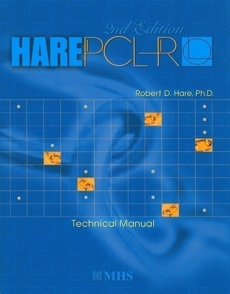 PCL-R·TM 2nd Ed. Complete Kit includes: Manual, 1 Rating Booklet, 25 QuikScore Forms and 25 Interview Guides