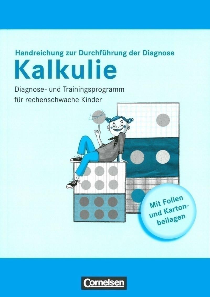 Test komplett bestehend aus: Handreichungen zur Durchführung der Diagnose, je 1 Diagnoseheft A und B, Kartonbeilagen und Folien im Paket